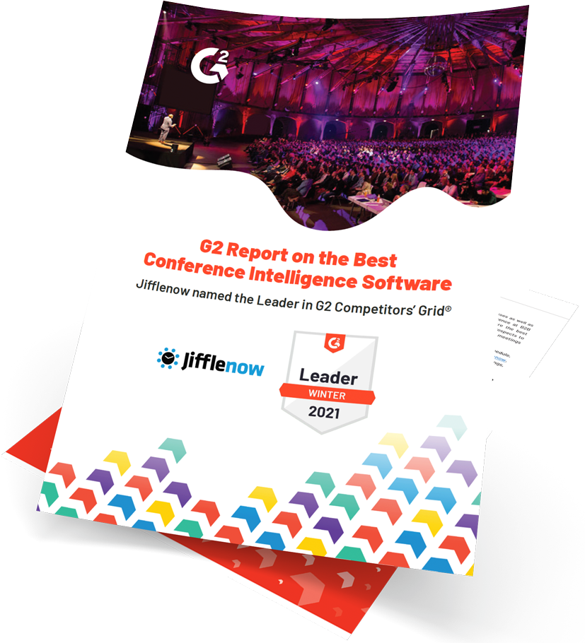 g2 grid report for Best Conference Intelligence Category winter 2020